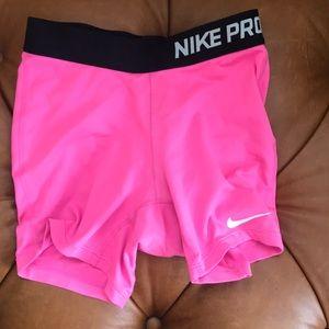 Girls Nike Pro Spandex